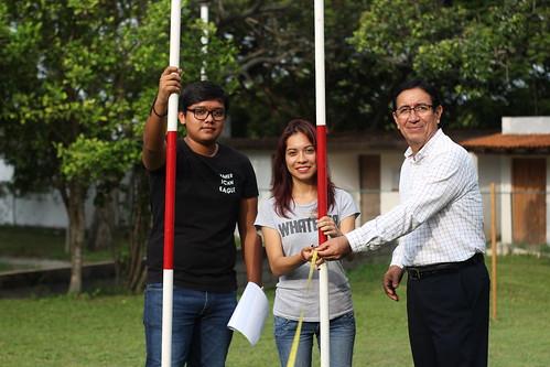 Alumnos de la Carrera de Arquitectura de la FADU realizan prácticas de Campo.