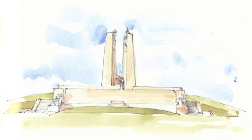 France, Pas-de-Calais, Vimy, Mémorial Canadien
