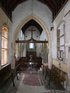 Woodwalton, Huntingdonshire, St Andrew, interior looking west