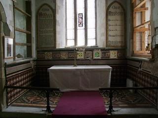 Woodwalton, Huntingdonshire, St Andrew, sanctuary