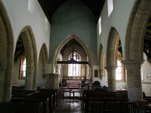 Woodwalton, Huntingdonshire, St Andrew, interior looking east