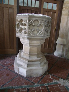 Woodwalton, Huntingdonshire, St Andrew, font