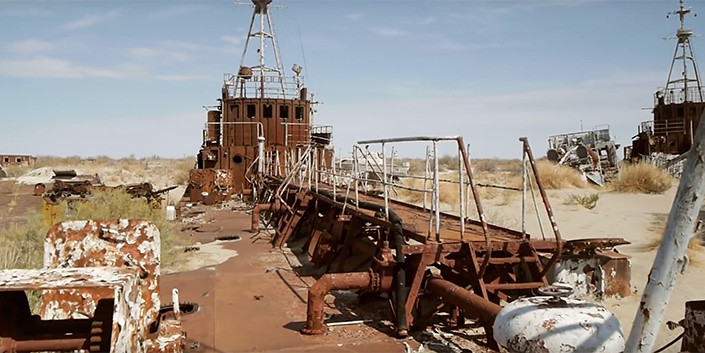 Aralsk-7: abandoned ships in a desert and the dark secret of a communist regime