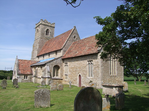 Woodwalton, Huntingdonshire, St Andrew, exterior from the south east