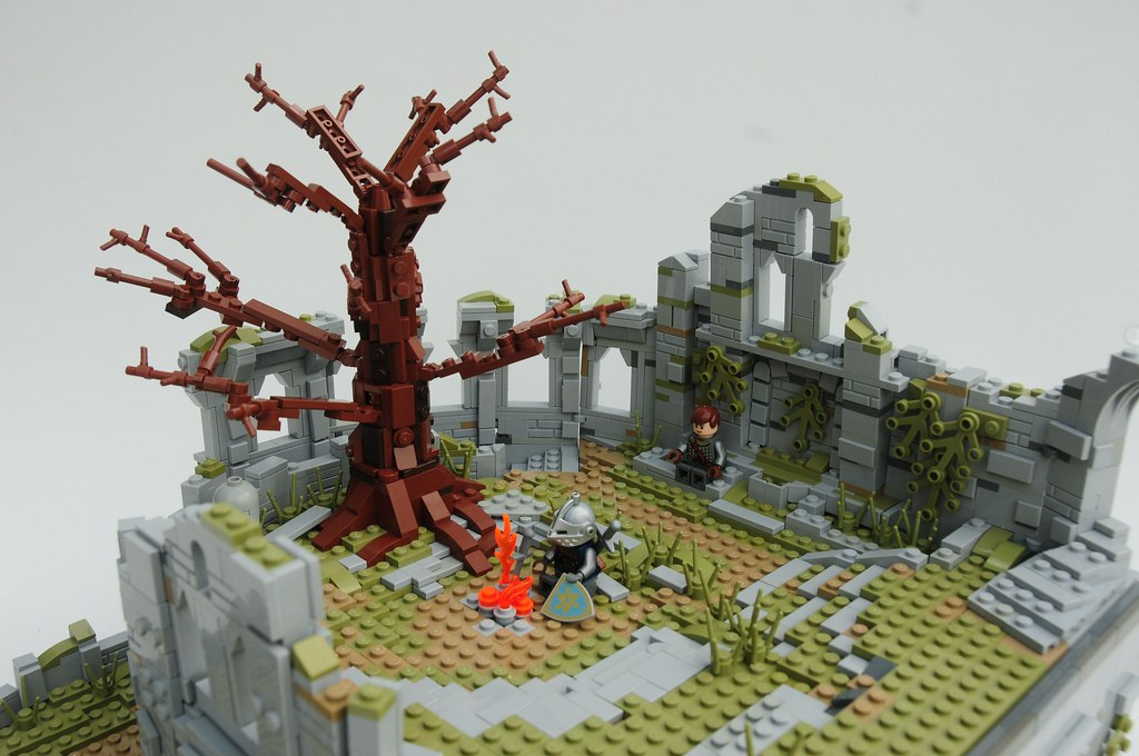 Lego Firelink Shrine