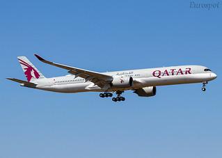 F-WZGY Airbus A350-1000 Qatar