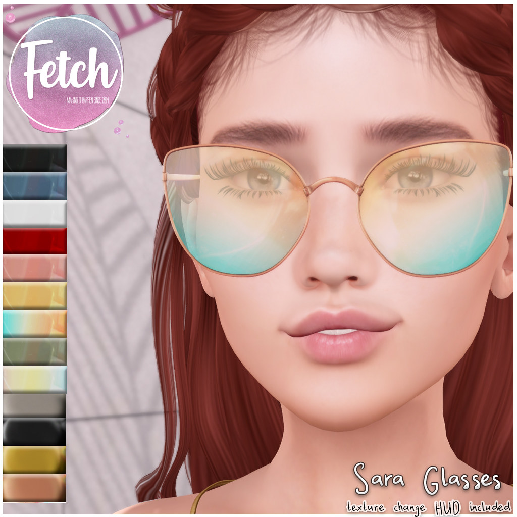 [Fetch] Sara Glasses @ Fifty Linden Friday!