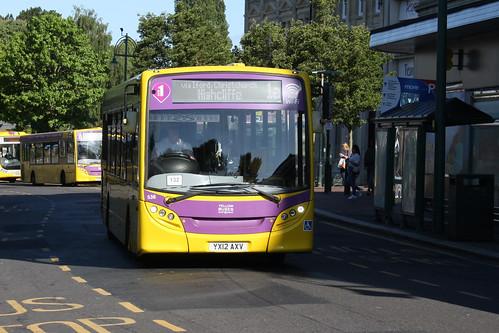 Yellow Buses 536 YX12AXV