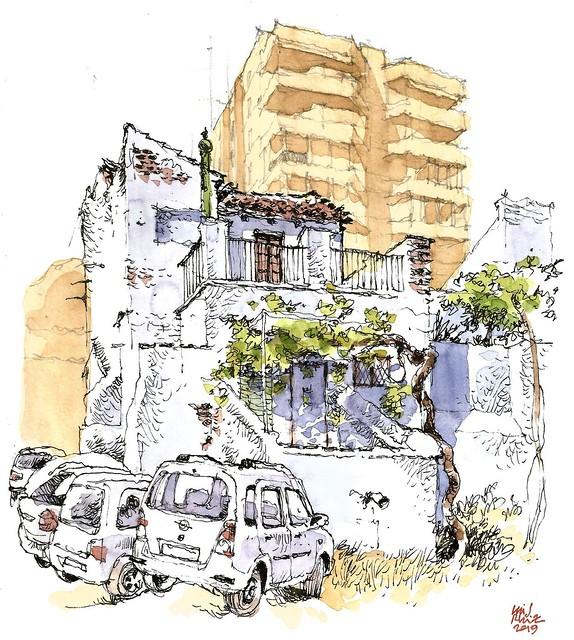 Málaga, calle Bolivia