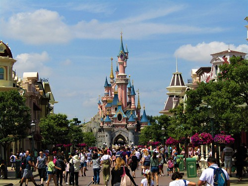 Sleeping Beauty Castle in Disneyland Paris