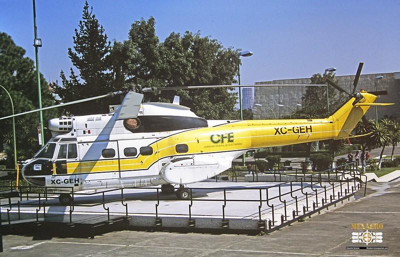 Comisión Federal de Electricidad / Aerospatiale SA330J Puma / XC-GEH