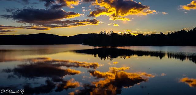 Sunset mirror...