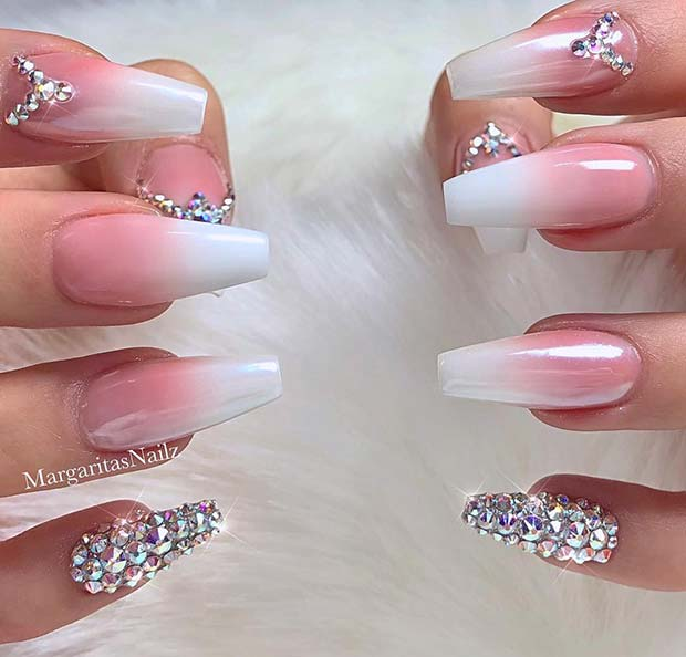 22+Chic Baby Boomer Nail Designs You'll Love _2019 - Style2 T