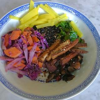 Togarashi Bowl- a Plant-based-dinner