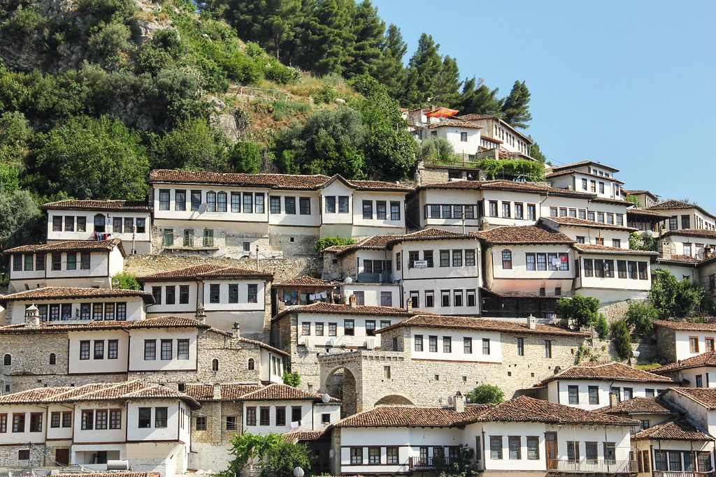 One of my favourite places we stayed in Albania – the city of Berat