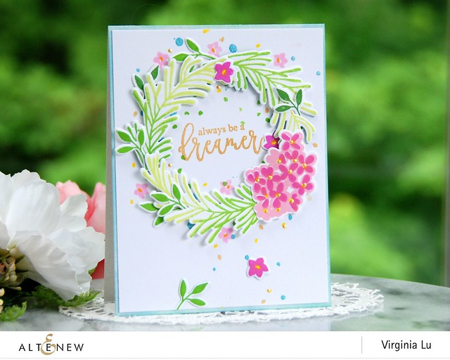 Altenew-SophisticatedWreathStampDieBundle-Virginia#1