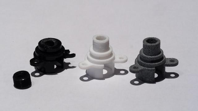 3D printed Minolta parts