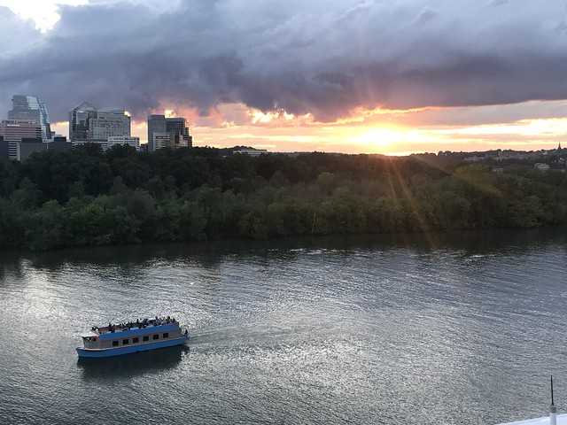 Enjoy the Roof Terrace of the Kennedy Center