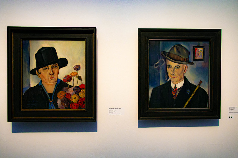 Gemälde von Felix Nussbaum: Die Eltern des Künstlers, gemalt 1926