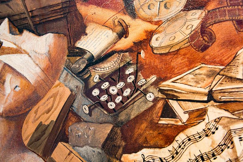 Gemälde von Felix Nussbaum, Detail