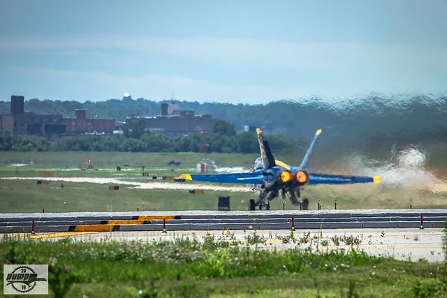 US Navy Blue Angels at Kansas City, MO