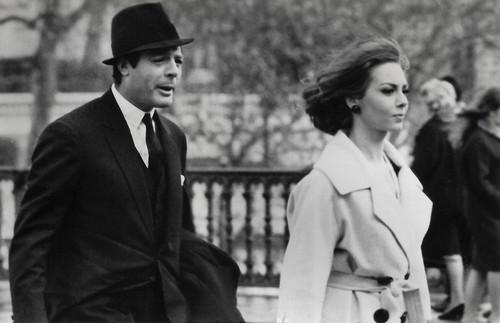 Marcello Mastroianni and Michèle Mercier in Casanova '70 (