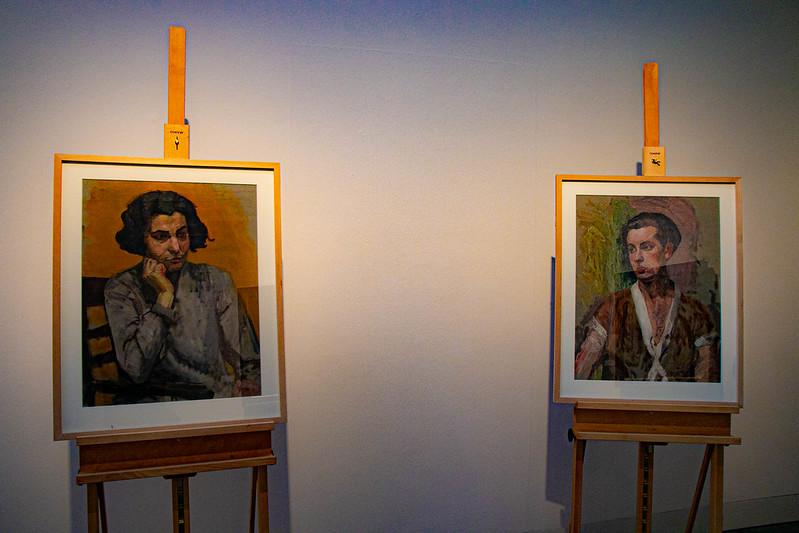 Frühe Porträts von Felka Platek