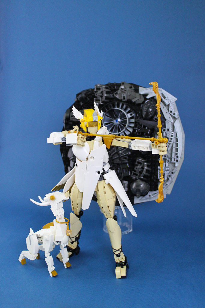 Artemis (custom built Lego model)