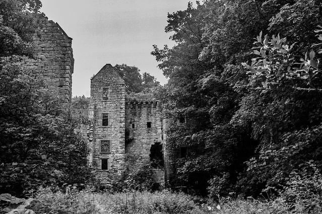 Old Dalquharran Castle