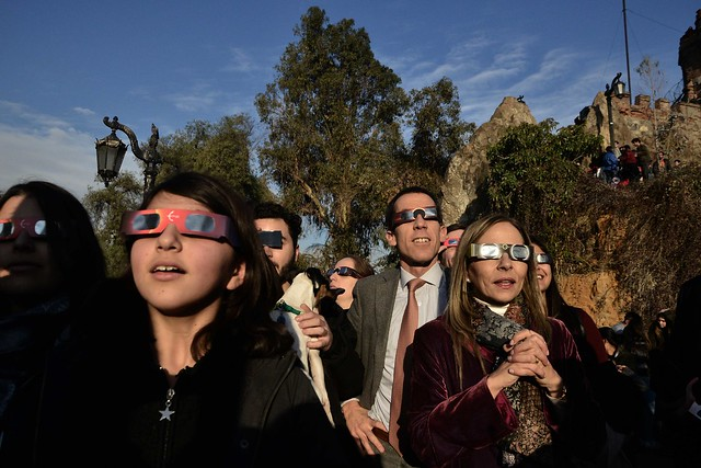 ¡Eclipse en el Santa Lucía!