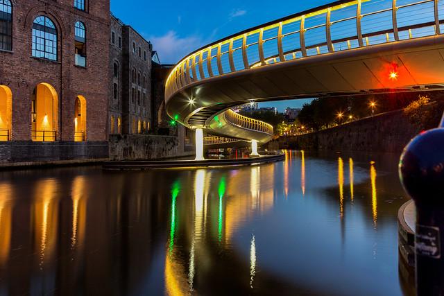 Castle Bridge at Finzels Reach / Bristol / UK 2019