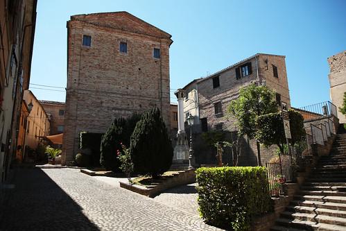 Il centro storico di Offagna