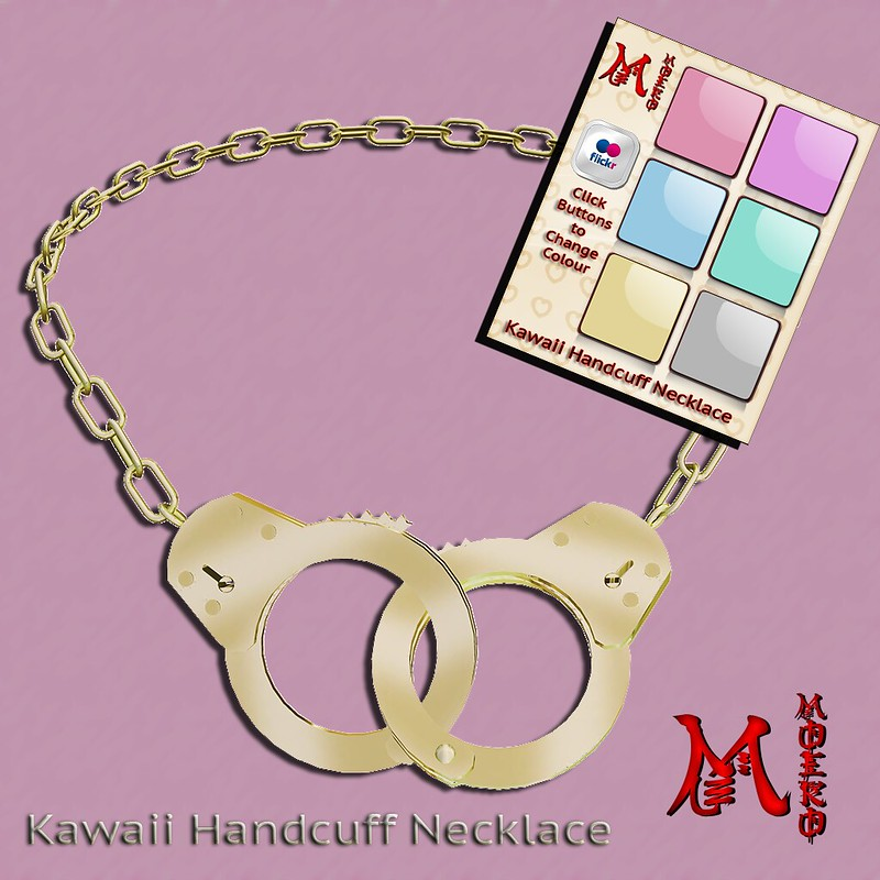 MOEKO Kawaii Handcuff Necklace Ad1024