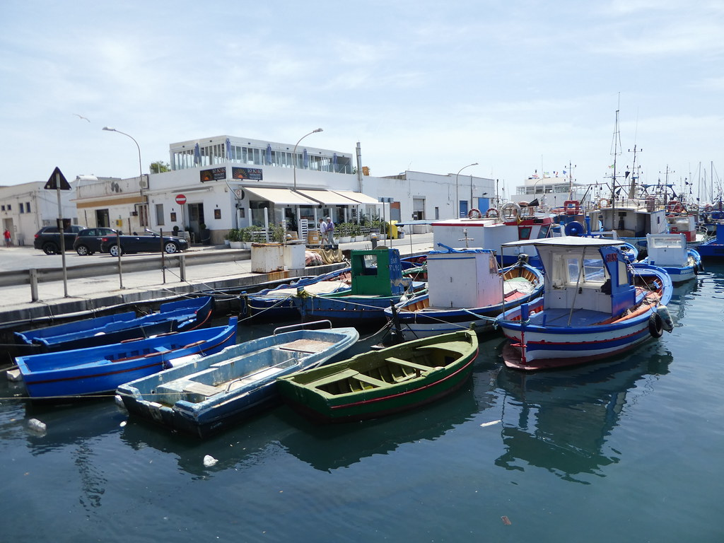 Trapani harbour