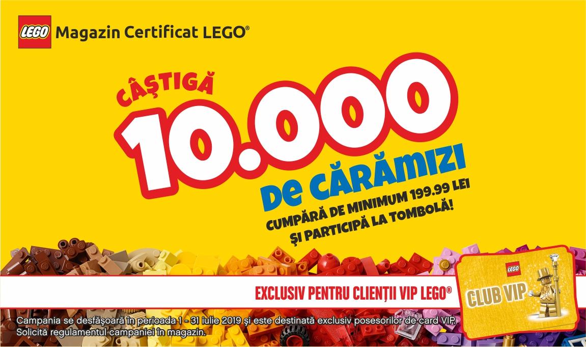 Castiga 10 000 de caramizi LEGO la tombola Brick Depot