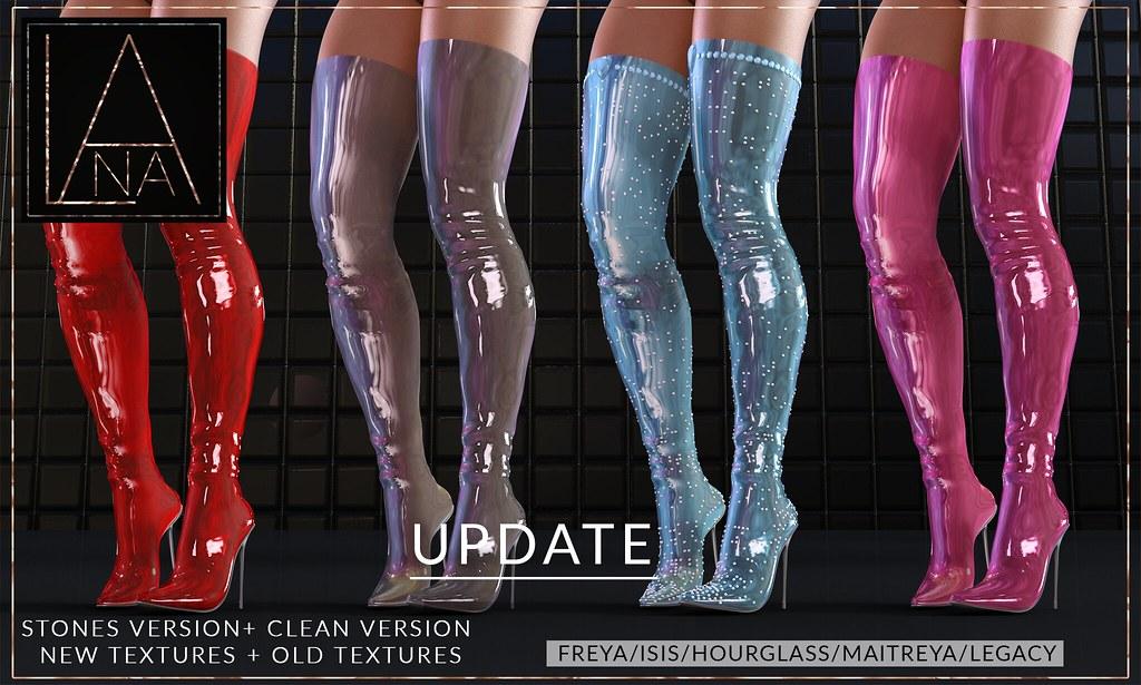 #LANA – The Adora Boots UPDATE !