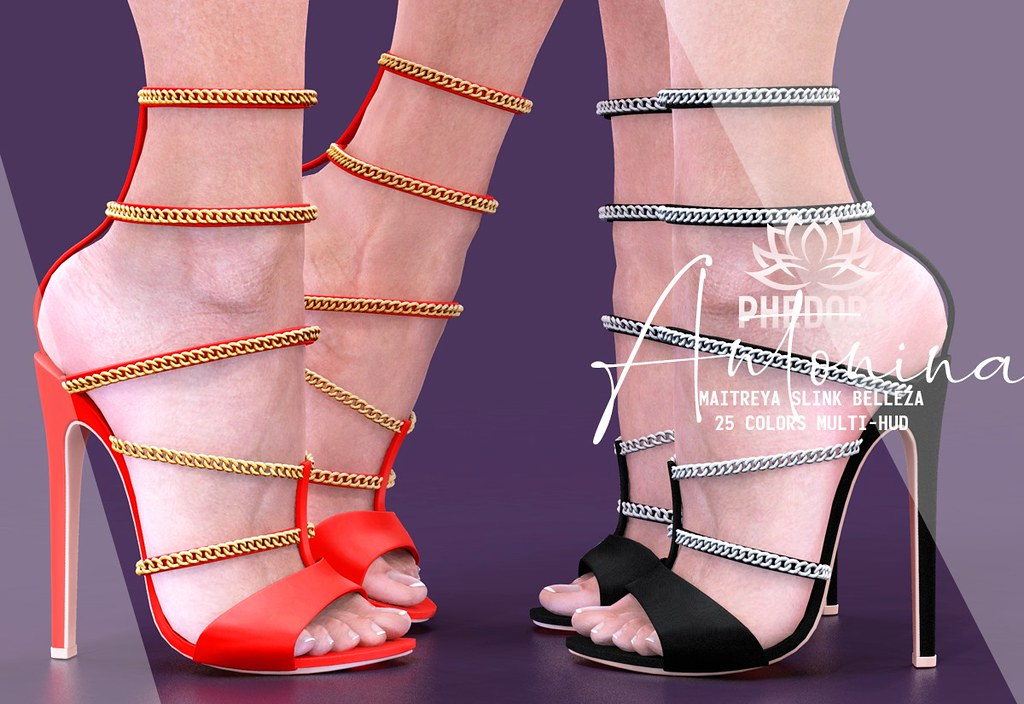"Phedora. for FaMESHed – ""Antonina"" heels♥"