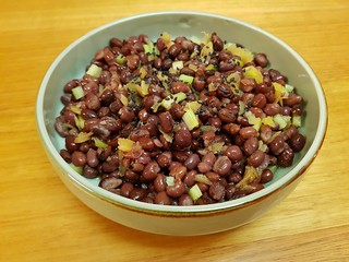 Adzuki Beans with Pickled Ginger