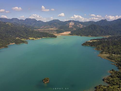 zambales mapanuepe lake pinatubo philippines drone dji mavic