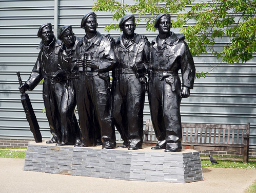 Royal Tank Regiment Memorial Statue