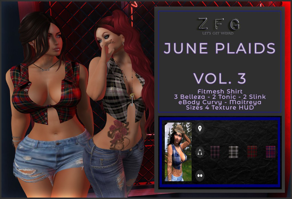 {zfg} june plaids vol 3
