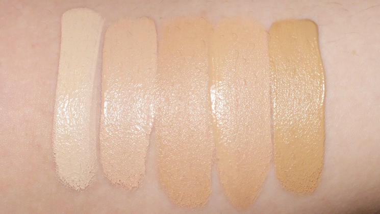 Kiss NY Pro Touch Dark Under Eye Concealer swatches