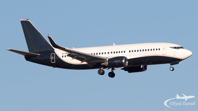 TLV - ** RARE ** 2 Excel Aviation Boeing 737-300 G-SWRD
