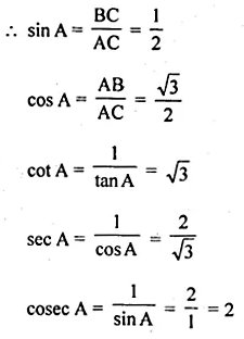 ML Aggarwal Class 10 Solutions for ICSE Maths Chapter 18 Trigonometric Identities Ex 18 Q4.1
