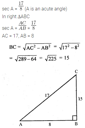 ML Aggarwal Class 10 Solutions for ICSE Maths Chapter 18 Trigonometric Identities Ex 18 Q2