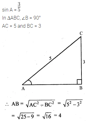 ML Aggarwal Class 10 Solutions for ICSE Maths Chapter 18 Trigonometric Identities Ex 18 Q1