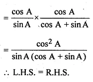 ML Aggarwal Class 10 Solutions for ICSE Maths Chapter 18 Trigonometric Identities Ex 18 Q18.3