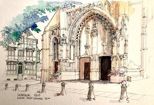 HONFLEUR Eglise St. Leonard