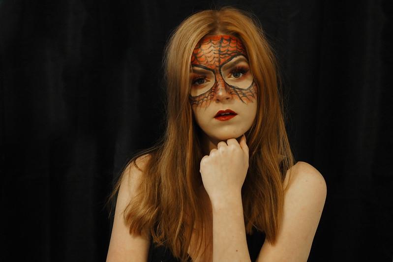spiderman meikki