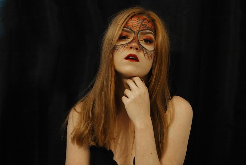 hämähäkkimies meikki